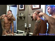Mature gay bears drinking love juice
