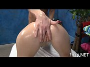 Watch as girls caress pussy and finish