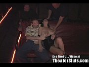 Theater slut anna gets anal creampies from strangers
