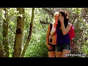 outdoor lesbian scene with oral sex