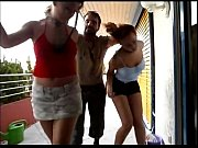 horny man punishes two sexy girls