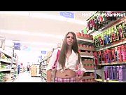 hot babe JC Flashes in supermarket view on xvideos.com tube online.