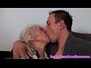 Euro granny gets pussy fu...
