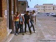 Sexo gay Vintage em ação nas ruas