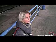 Picture Bitch STOP - Blonde Czech MILF fucked in car