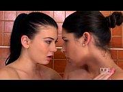 Picture Euro lesbians in sexy bath time sex scene