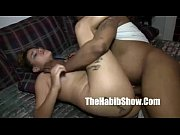 big 15 inch dick getting throthled in her stomach