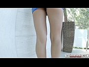 Picture Allinternal Alexis Brill strips and gets fuc...