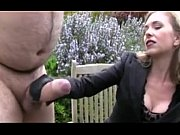 Picture Chubby guy with big cock getting a handjob b...