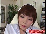 【牧村みお】時間外の処置室でナースが双頭ディルドしごきながら本気オナニー!