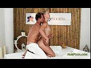 Sessão de massagem e pica na xoxota