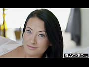 BLACKED Teen beauty tries Inte
