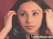 Hot Anal Dildo On Webcam