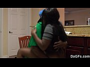 Ebony with a big ass gets fucked during t ...