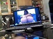 Jacking off watching giganticTits