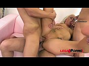 Picture Hot blonde Licky Lex fucks huge toy with her...
