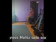 Mistress Meltz Rides Side Saddle