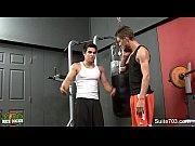 seductive gay jocks poking in the gym – Gay Porn Video