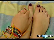 Picture Sweet Girl Teases Her Beautiful Feet