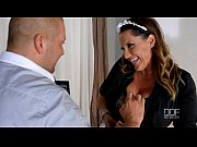 French maid gets caught...