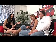 Picture MMV FILMS Amateur Mature Threesome with his...