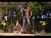 beefy gay teaching how to fuck by black guy – Porn Video