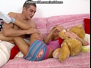 Picture Amazing blonde plays with dildo and cock