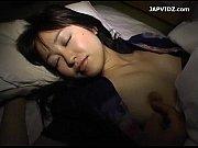 浴衣でぐっすり眠る美少女に夜這い!布団めくったら食い込みパンティー!優しく乳揉み♡
