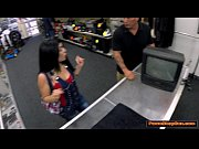 Picture Cuban babe sells TV and gets pounded