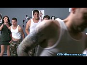 CFNM militar ladies...