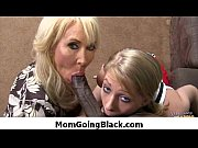 Mommy go black - Interracial hardcore MILF porn video 15