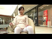 Picture Jeny Smith white pantyhose flashing hidden cam