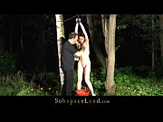Picture Redhead bitch restrained and fucked in the w...