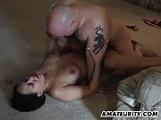 Amateur couple home fucking on
