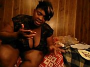 bbw ebony enjoys herself from DesiresBBW .com