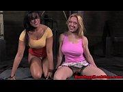 BDSM fetish blonde sub Darling makes out