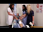 nurses adele and emma tugging penis hard