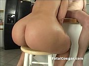 Ridiculously thick cougar make