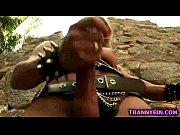 Hot TS mistress solo scene