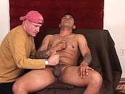 Divorced Latino's first gay handjob. view on xvideos.com tube online.