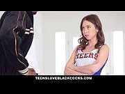 Picture TeensLoveBlackCocks - Cute Cheerleader Gets...