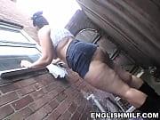 Picture Big ass bbw English milf public flashing no...
