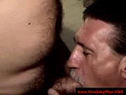 Old redneck bear matures jerking off