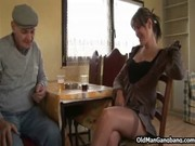 Picture Husband fucks wife with Papy