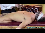 Young mormon straight oiled and sucked by older gay man