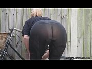 Picture Lycra ass see through leggings Daniella Engl...