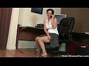 Блондинка сексуальная секретарь с заду порно