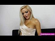 Picture Super blonde Jenna Lovely extreme nylon feti...
