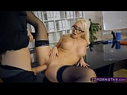 Picture Female boss lady with big tits riding an emp...