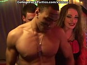 Picture Costumed men fuck babe at the Halloween coll...